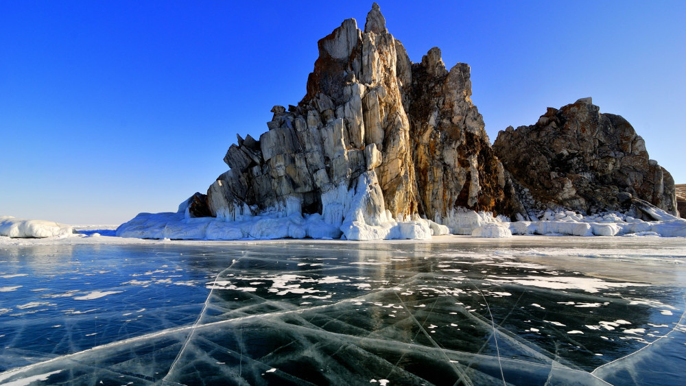 DELUXE WINTER LAKE BAIKAL - EMPIRE OF ICE